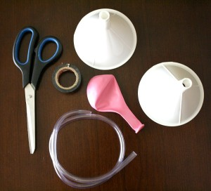 DIY-Stethoscope-Materials