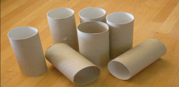 roll paper crafts